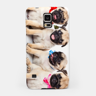 Thumbnail image of Pug Puppies Cute  Accessories Gift Samsung Case, Live Heroes