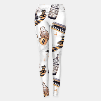 Thumbnail image of Hufflepuff pattern Leggings, Live Heroes