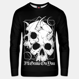 Thumbnail image of I'll grow on you Unisex sweater, Live Heroes