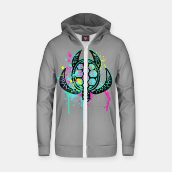 Thumbnail image of Turtle Soul Zip up hoodie, Live Heroes