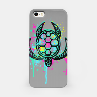 Miniatur Turtle Soul iPhone Case, Live Heroes