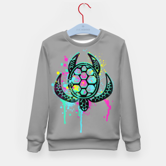 Miniatur Turtle Soul Kid's sweater, Live Heroes