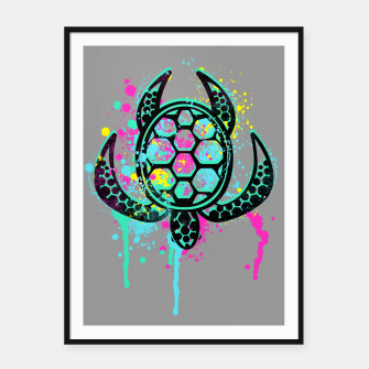 Thumbnail image of Turtle Soul Framed poster, Live Heroes