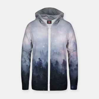 Thumbnail image of Forest One Zip up hoodie, Live Heroes