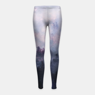 Thumbnail image of Forest One Girl's leggings, Live Heroes