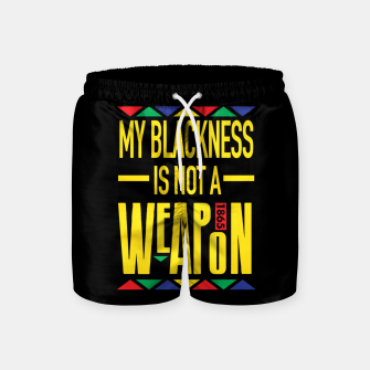 My Blackness Swim Shorts thumbnail image