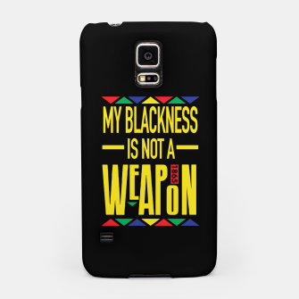 Thumbnail image of My Blackness Samsung Case, Live Heroes