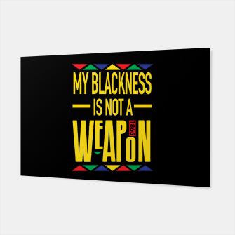 My Blackness Canvas thumbnail image