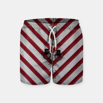 Imagen en miniatura de Striped door Swim Shorts, Live Heroes