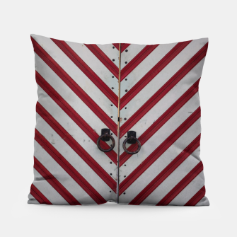 Imagen en miniatura de Striped door Pillow, Live Heroes