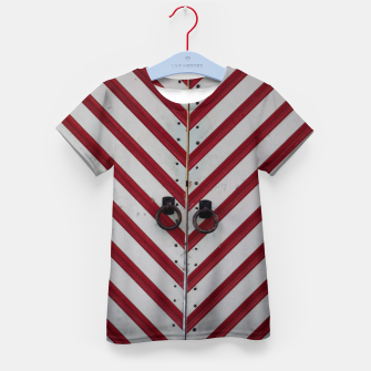 Thumbnail image of Striped door Kid's t-shirt, Live Heroes