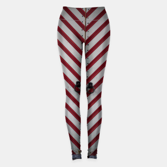 Thumbnail image of Striped door Leggings, Live Heroes