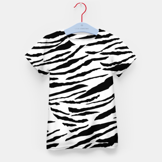 Miniatur Tiger Animal Print Glam #3 #pattern #decor #art  T-Shirt für kinder, Live Heroes