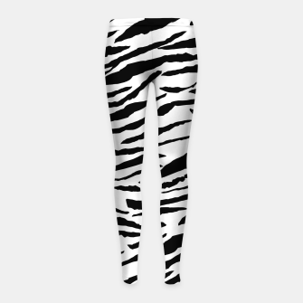 Miniaturka Tiger Animal Print Glam #3 #pattern #decor #art  Kinder-Leggins, Live Heroes