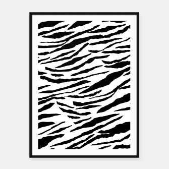 Miniaturka Tiger Animal Print Glam #3 #pattern #decor #art  Plakat mit rahmen, Live Heroes