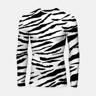 Miniaturka Tiger Animal Print Glam #3 #pattern #decor #art  Longsleeve rashguard, Live Heroes