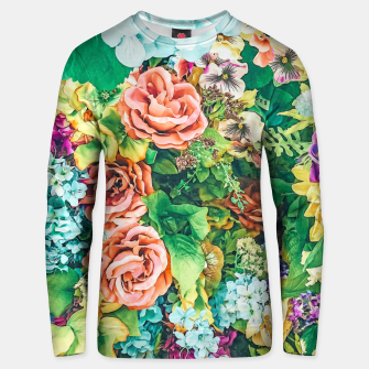 Thumbnail image of Vintage Garden Unisex sweater, Live Heroes