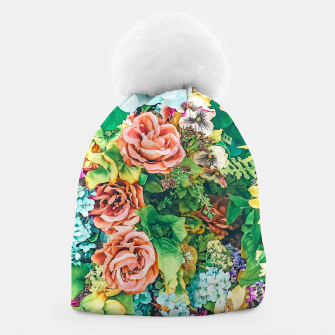 Thumbnail image of Vintage Garden Beanie, Live Heroes