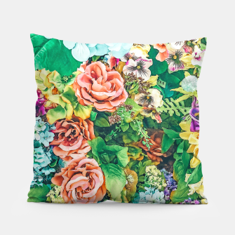 Thumbnail image of Vintage Garden Pillow, Live Heroes