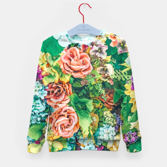 Thumbnail image of Vintage Garden Kid's sweater, Live Heroes