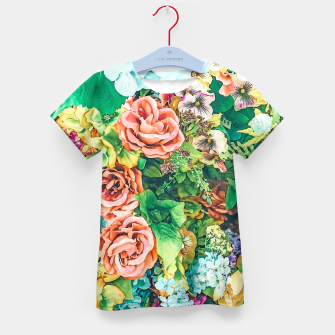 Thumbnail image of Vintage Garden Kid's t-shirt, Live Heroes