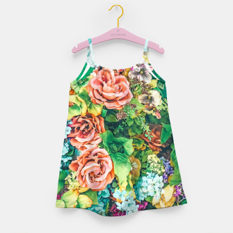 Thumbnail image of Vintage Garden Girl's dress, Live Heroes