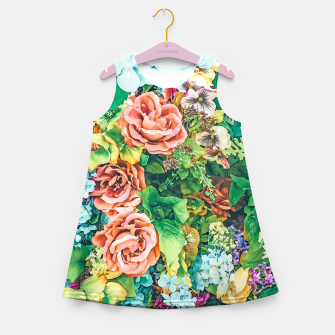 Thumbnail image of Vintage Garden Girl's summer dress, Live Heroes