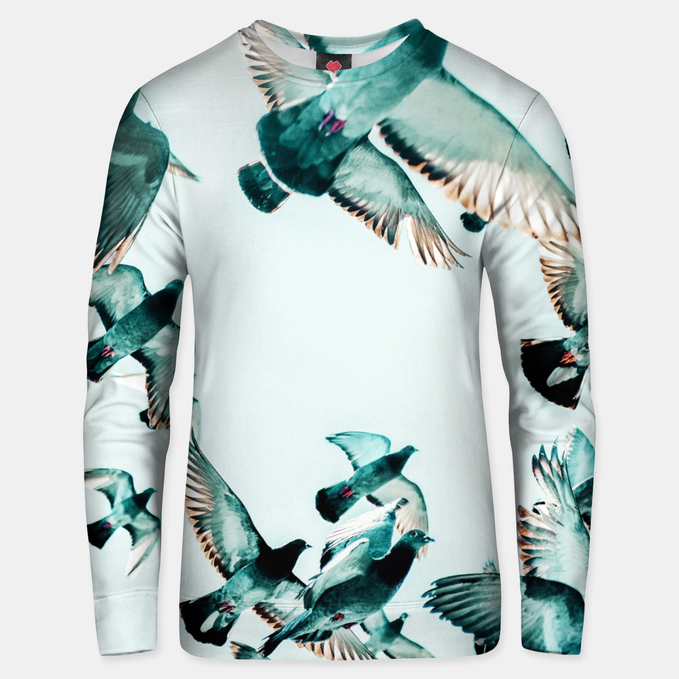 Image of Rise Unisex sweater - Live Heroes
