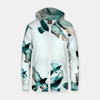 Thumbnail image of Rise Zip up hoodie, Live Heroes