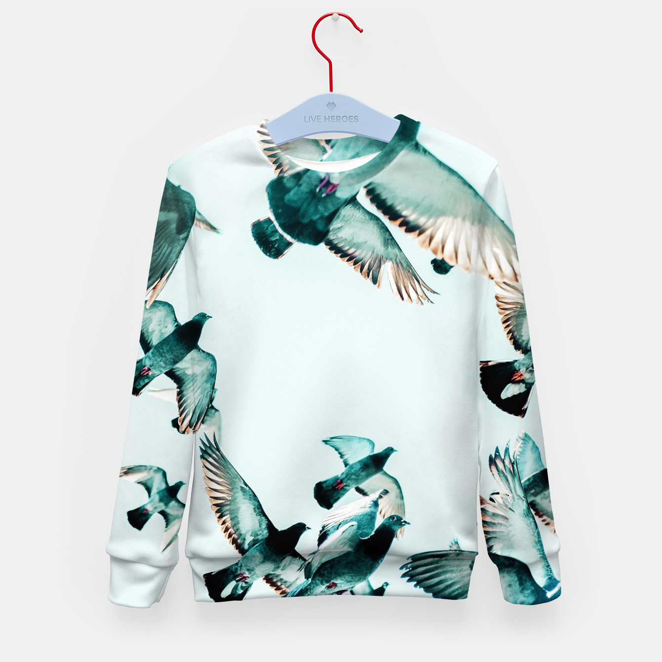 Image of Rise Kid's sweater - Live Heroes