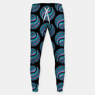Thumbnail image of Tentacle Yin Yang Pattern Sweatpants, Live Heroes