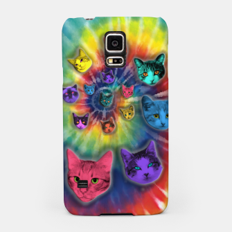 Thumbnail image of TIE DYE CATS Carcasa por Samsung, Live Heroes