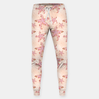 Thumbnail image of Starfish and Coral Pink Pastel  Sweatpants, Live Heroes