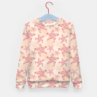Miniaturka Starfish and Coral Pink Pastel  Kid's sweater, Live Heroes