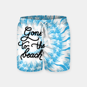 Imagen en miniatura de Gone to the beach (Blue) Swim Shorts, Live Heroes