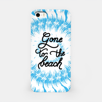 Miniatur Gone to the beach (Blue) iPhone Case, Live Heroes