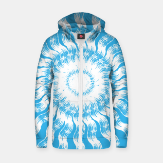 Thumbnail image of Splash of the Sea Zip up hoodie, Live Heroes