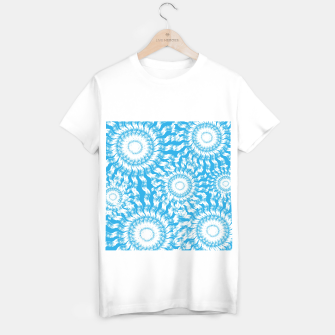 Miniatur Underwater Flowers T-shirt regular, Live Heroes