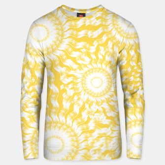Miniatur Abstract Sunflowers Unisex sweater, Live Heroes
