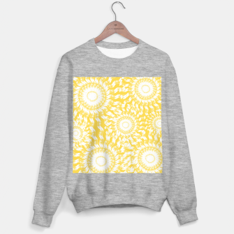Miniatur Abstract Sunflowers Sweater regular, Live Heroes