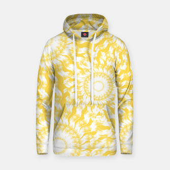 Miniatur Abstract Sunflowers Hoodie, Live Heroes