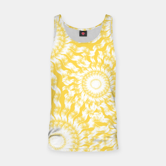 Miniatur Abstract Sunflowers Tank Top, Live Heroes
