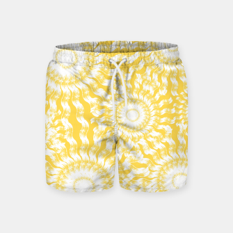 Imagen en miniatura de Abstract Sunflowers Swim Shorts, Live Heroes