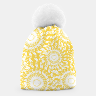Miniatur Abstract Sunflowers Beanie, Live Heroes