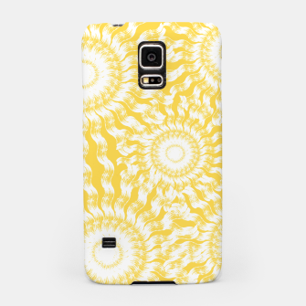 Miniatur Abstract Sunflowers Samsung Case, Live Heroes