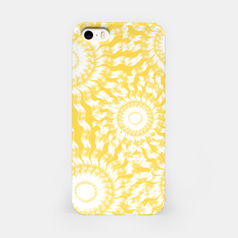 Miniatur Abstract Sunflowers iPhone Case, Live Heroes
