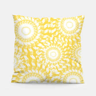Imagen en miniatura de Abstract Sunflowers Pillow, Live Heroes