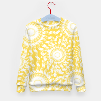 Miniaturka Abstract Sunflowers Kid's sweater, Live Heroes