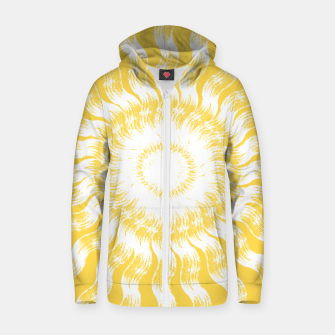 Thumbnail image of Sunny Day Zip up hoodie, Live Heroes