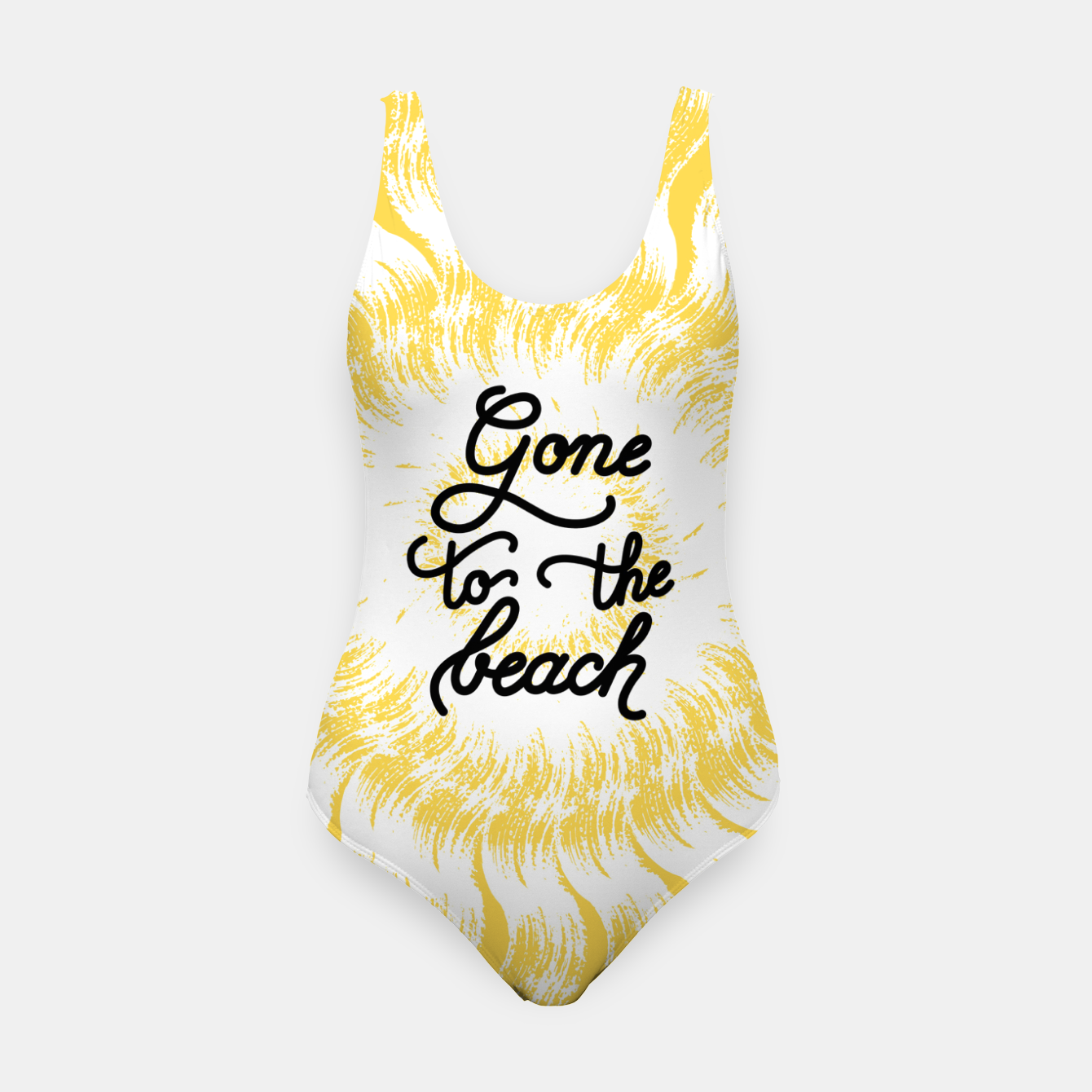 Imagen de Gone to the beach (Yellow) Swimsuit - Live Heroes